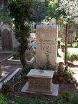 La tomba di Gramsci a Roma.