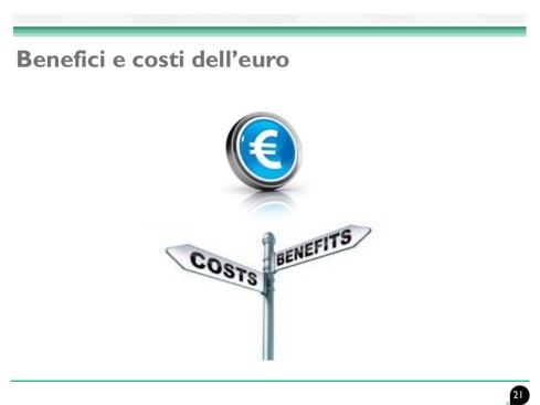 euro costi benefici