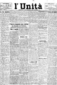 Il primo numero: 12 febbraio 1924