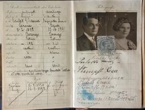 Il passaporto dei miei nonni