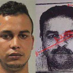 A sinistra: Touil. La foto a destra è apparsa sui giornali tunisini .