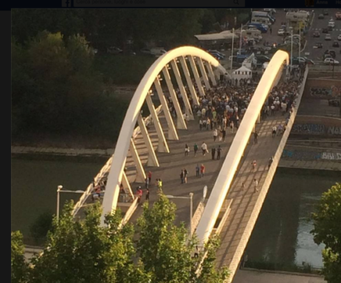 ponte della musica 17 giugno ore 19.58